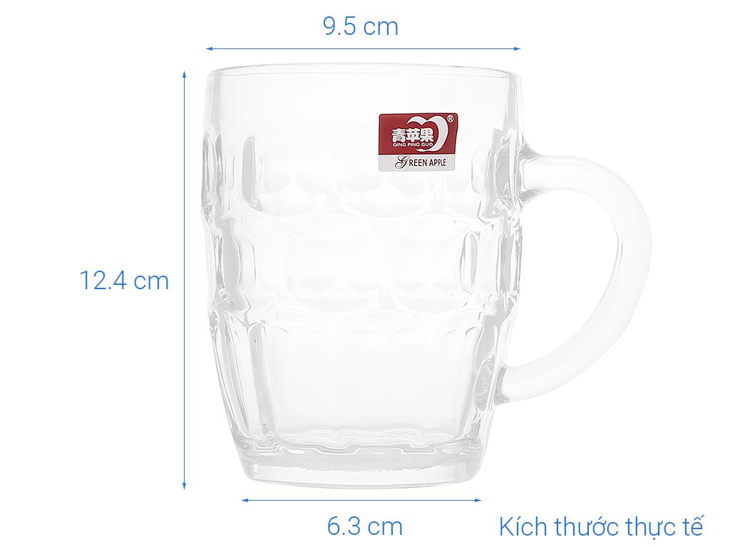 Ly bia thuỷ tinh Deli mãng cầu lớn 540ml 6