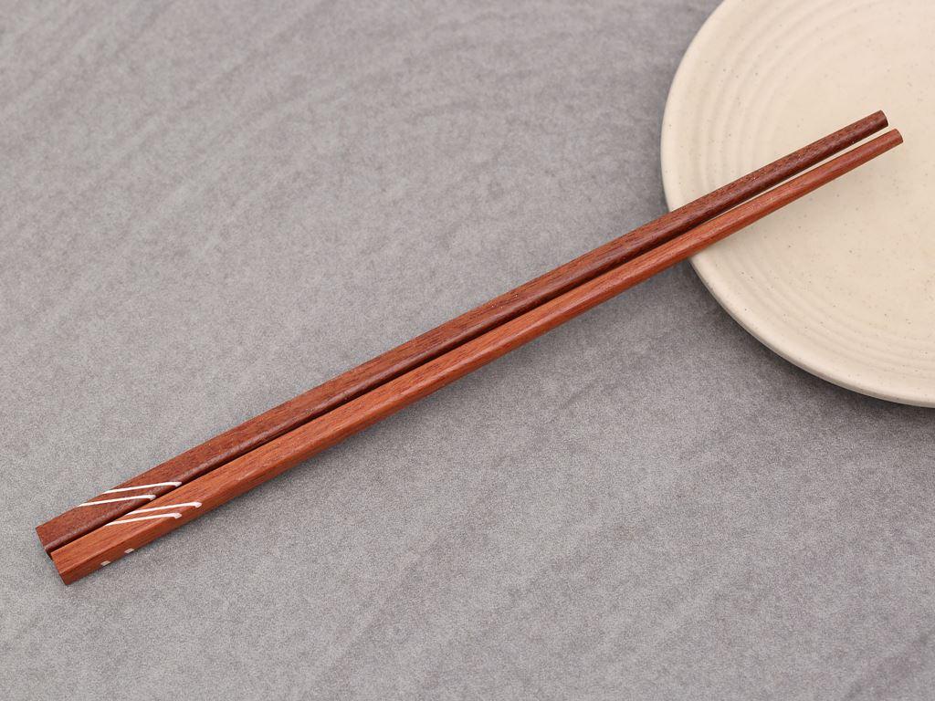 Bộ 10 đôi đũa ổi cẩn đặc biệt 24cm Bách Hoá Xanh DGC-002-10 4