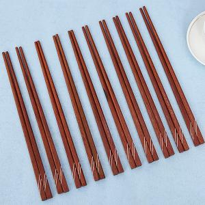 Bộ 10 đôi đũa ổi cẩn đặc biệt Bách Hoá Xanh DGC-002-10