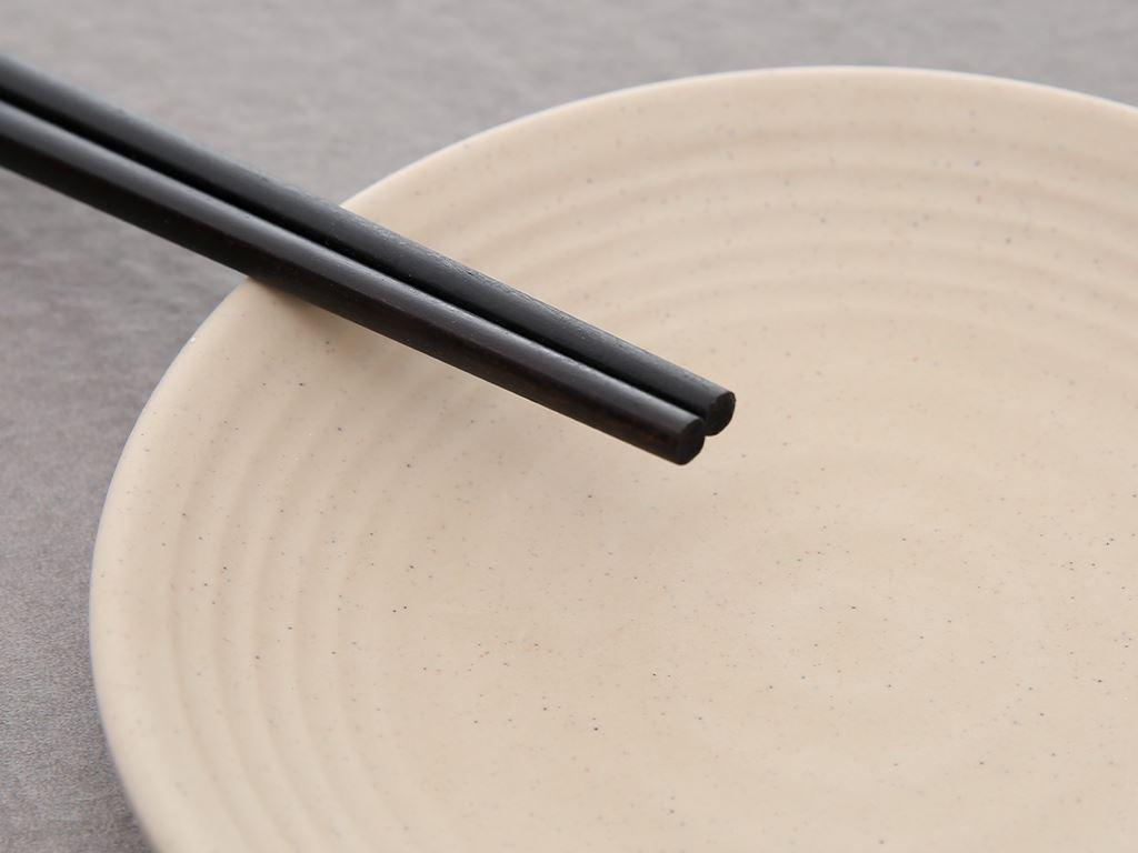 Bộ 10 đôi đũa gỗ hương tràm 24.5cm Chopi 5
