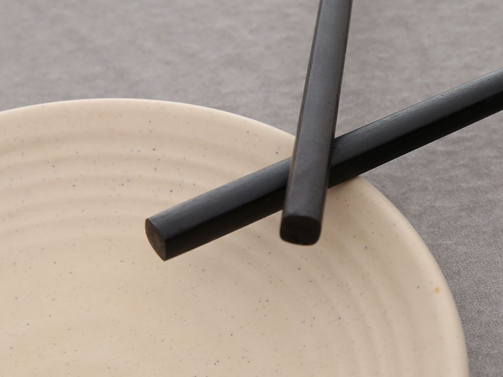 Bộ 10 đôi đũa gỗ hương tràm 24.5cm Chopi 6