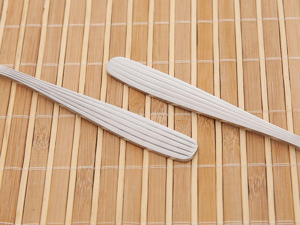 Bộ 2 muỗng cơm inox 410 cán dài sọc dọc 18cm Điện Máy XANH MC003-02 5