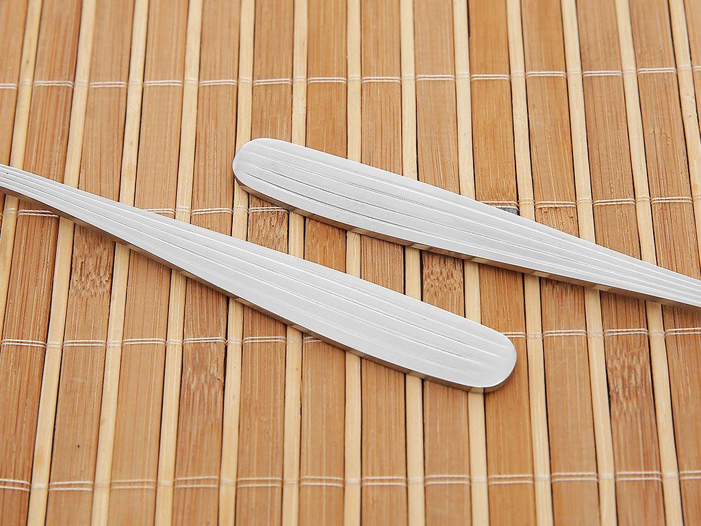 Bộ 2 muỗng canh inox 410 cán dài sọc dọc 17.5 cm Điện Máy XANH MS003-02 5