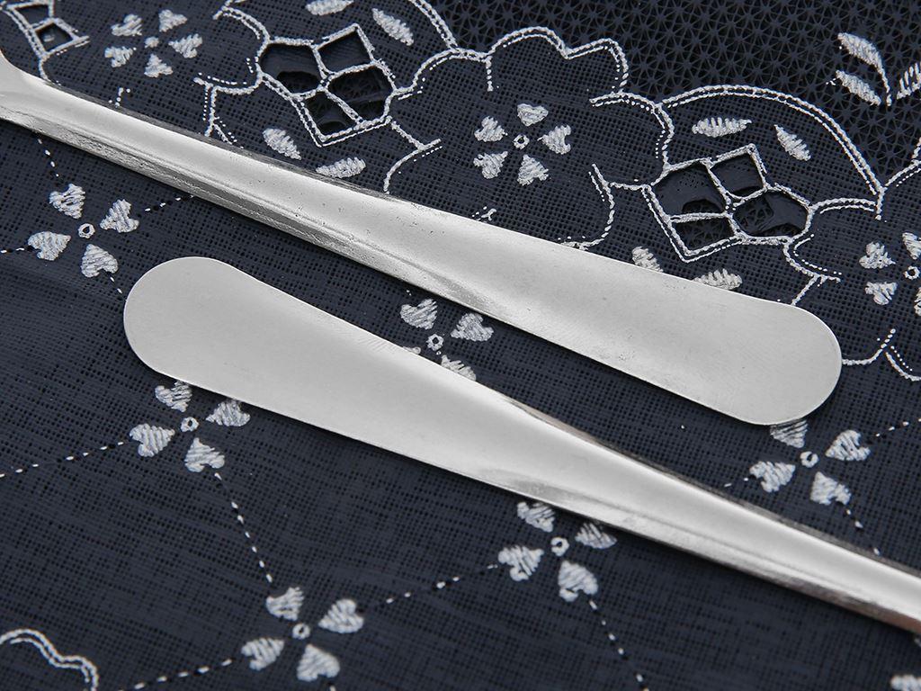 Bộ 5 nĩa inox cán dài trơn 18.5 cm Bách hóa XANH VNS132-5 5
