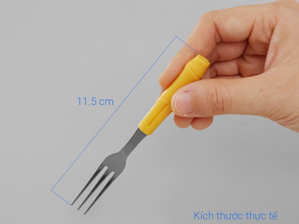 Bộ 5 nĩa inox cán ngắn 11.5 cm Anpha Cook AC208-NTC115 6