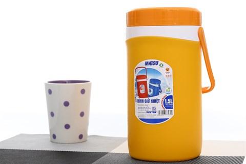 Ca đá nhựa giữ lạnh 1.5 lít Duy Tân 1.5 lít