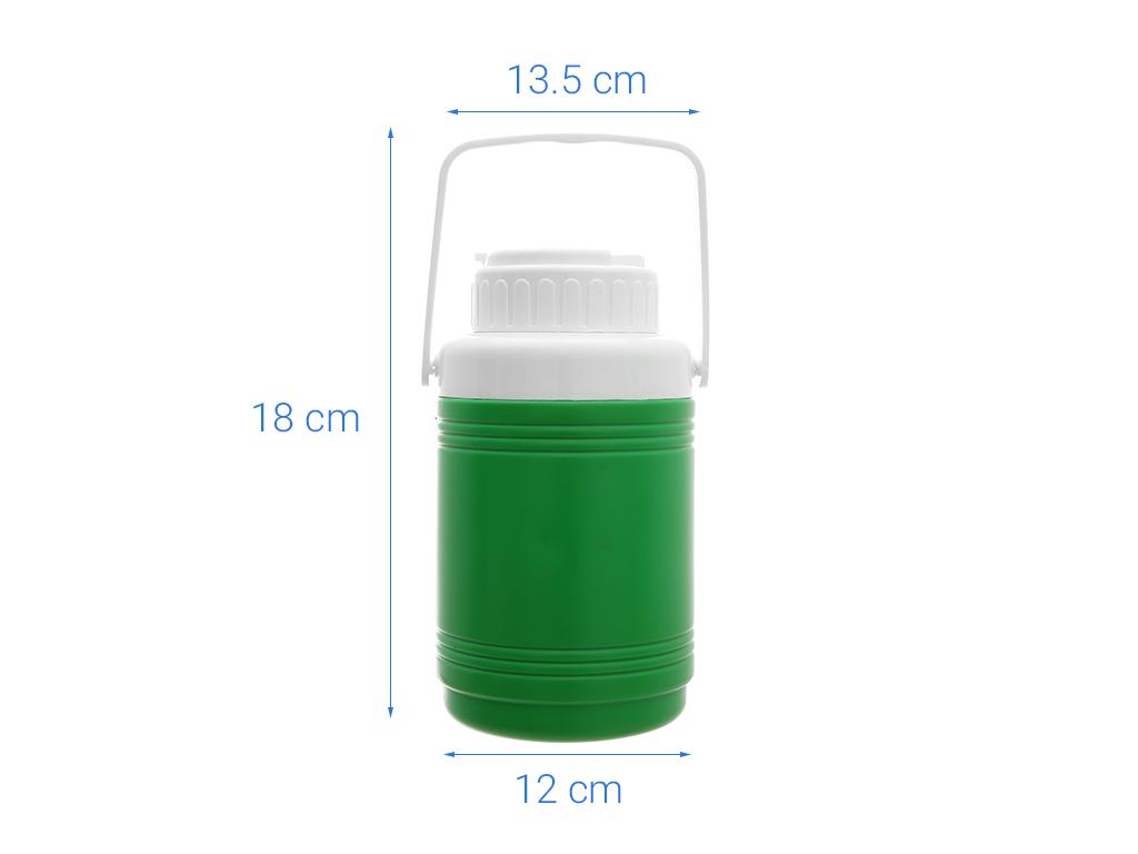 Ca đá nhựa PP 1.5 lít Đồng Tâm (giao màu ngẫu nhiên) 10