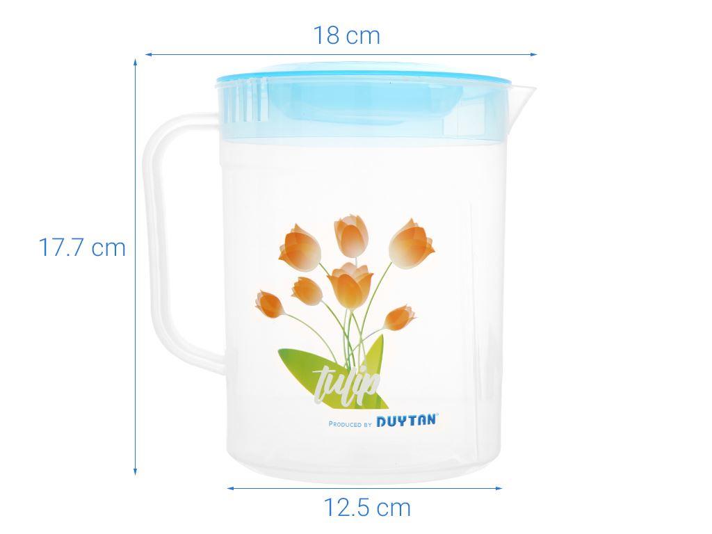 Ca tulip nhựa 2 lít Duy Tân (giao màu ngẫu nhiên) 10