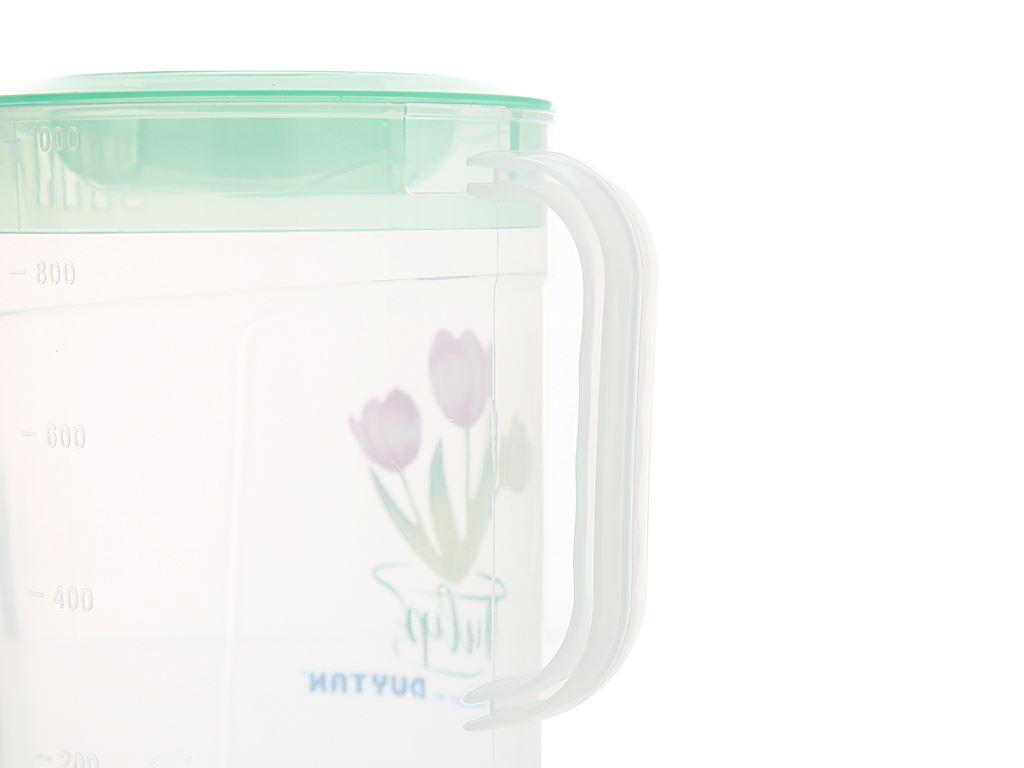 Ca tulip nhựa 1 lít Duy Tân (giao màu ngẫu nhiên) 1