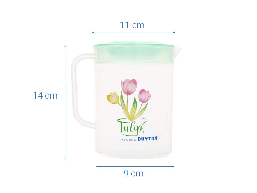 Ca tulip nhựa 1 lít Duy Tân (giao màu ngẫu nhiên) 9