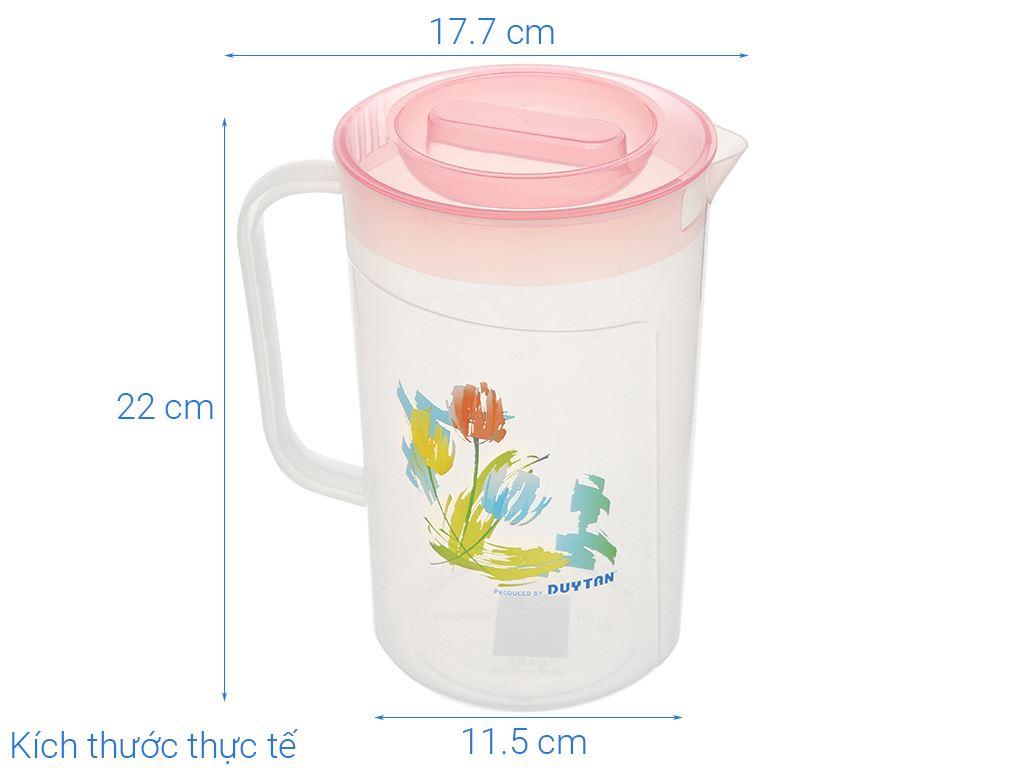 Ca tulip nhựa 2.5 lít Duy Tân (giao màu ngẫu nhiên) 9