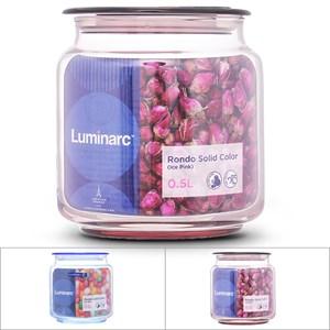 Hũ đựng thực phẩm thủy tinh 500 ml Luminarc Rondo