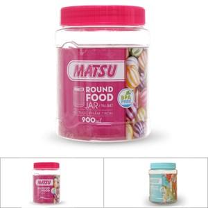 Hũ đựng thực phẩm nhựa 900 ml Duy Tân Matsu