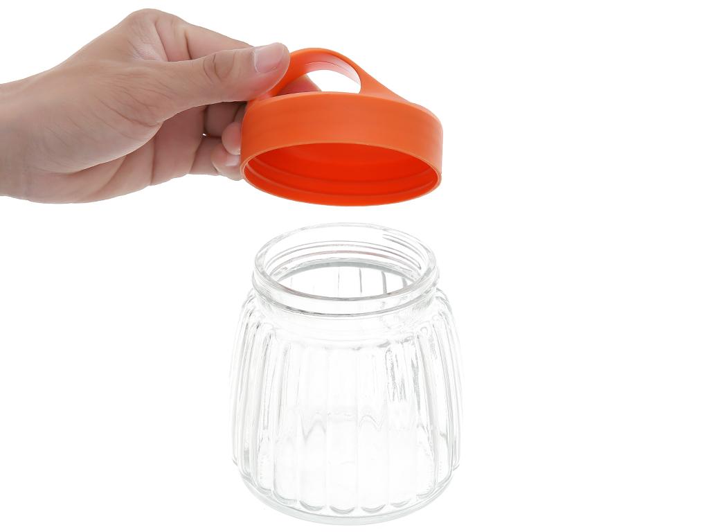 Hũ đựng thực phẩm thủy tinh nắp nhựa 500ml Bách Hoá XANH AC-AY91118E 2