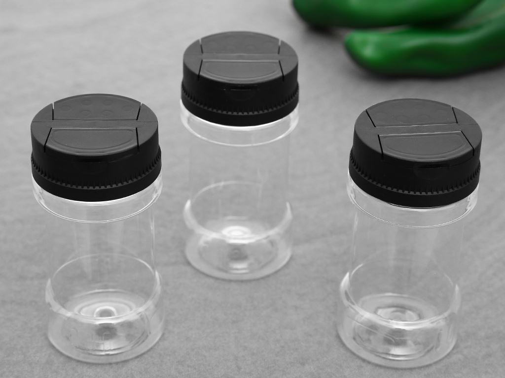 Bộ 3 hũ gia vị nhựa 120ml Duy Tân 741 2