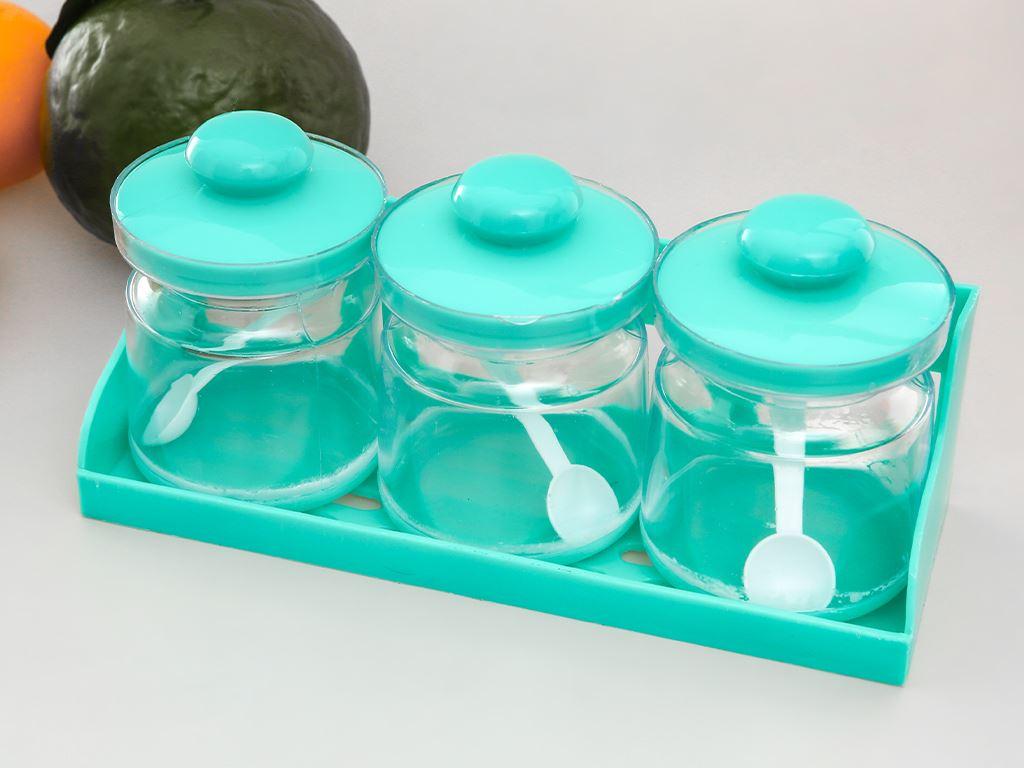 Bộ 3 hũ đựng gia vị nhựa Tân Bách Phát 2