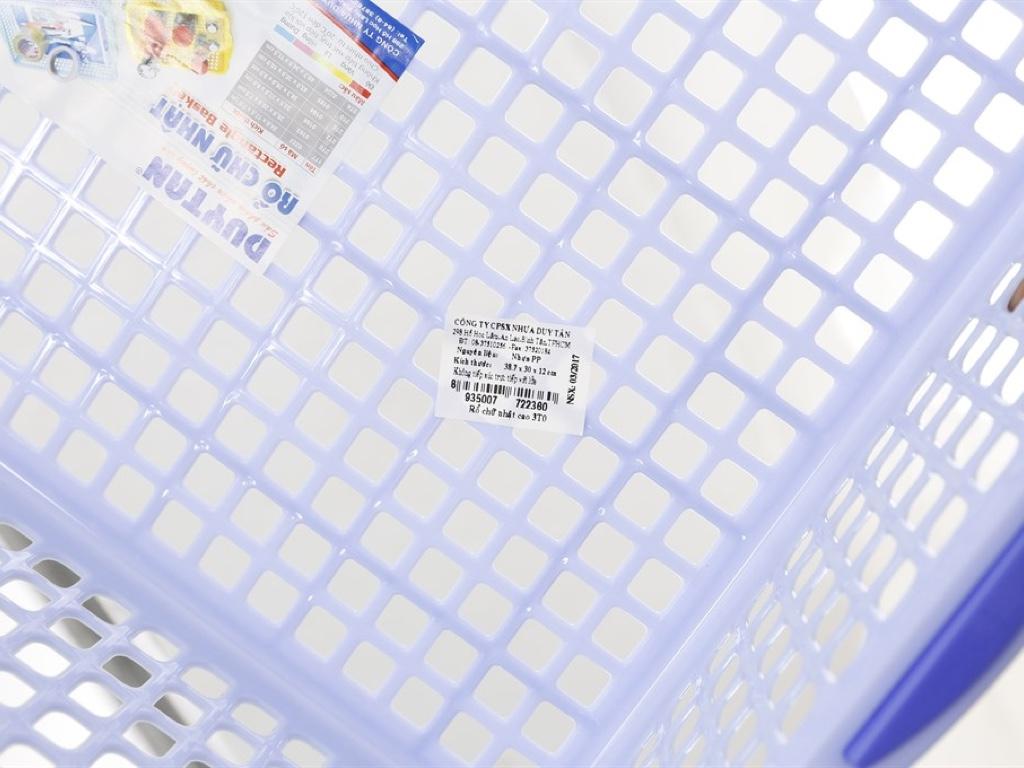 Rổ nhựa chữ nhật Duy Tân 3T0 39cm (giao màu ngẫu nhiên) 5