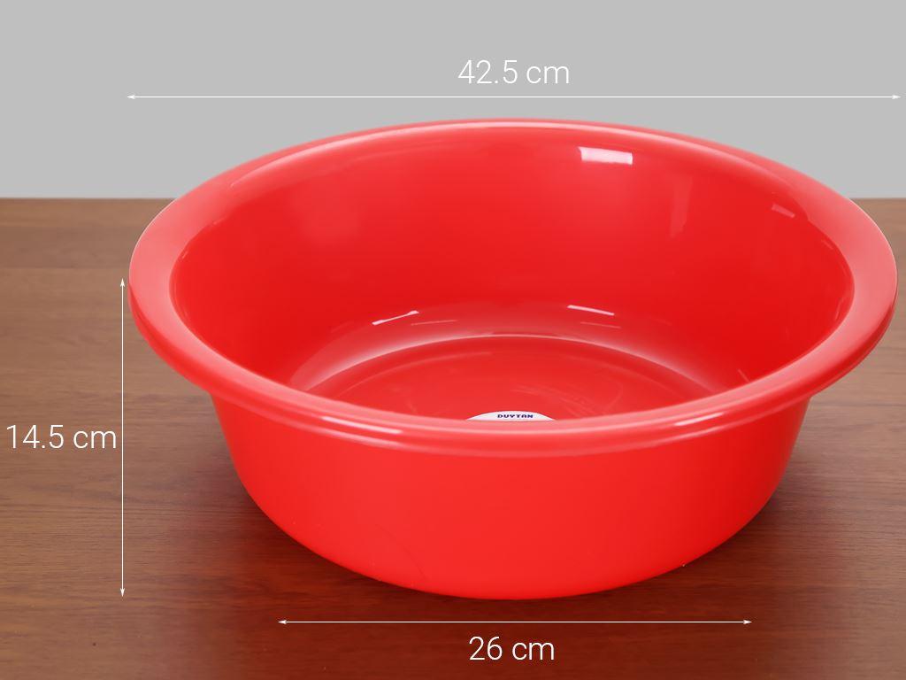 Thau nhựa tròn Duy Tân 4T5 45cm (giao màu ngẫu nhiên) 8