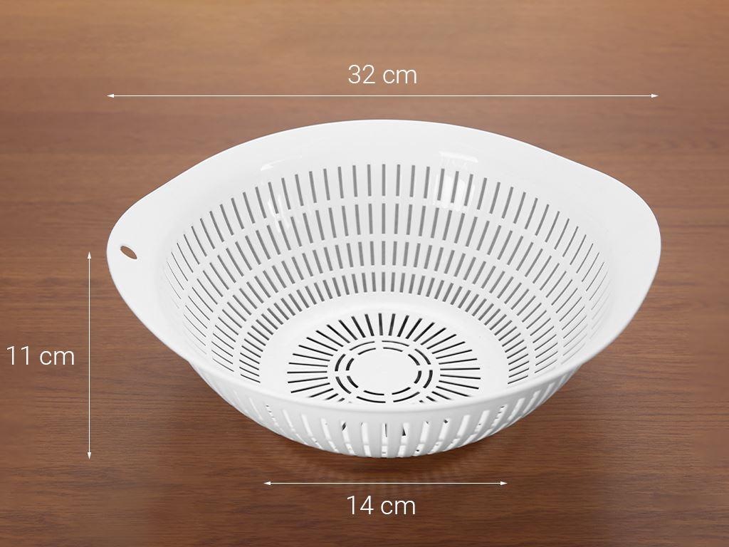 Rổ nhựa tròn thái lan Pioneer RN002 32cm (giao màu ngẫu nhiên) 7