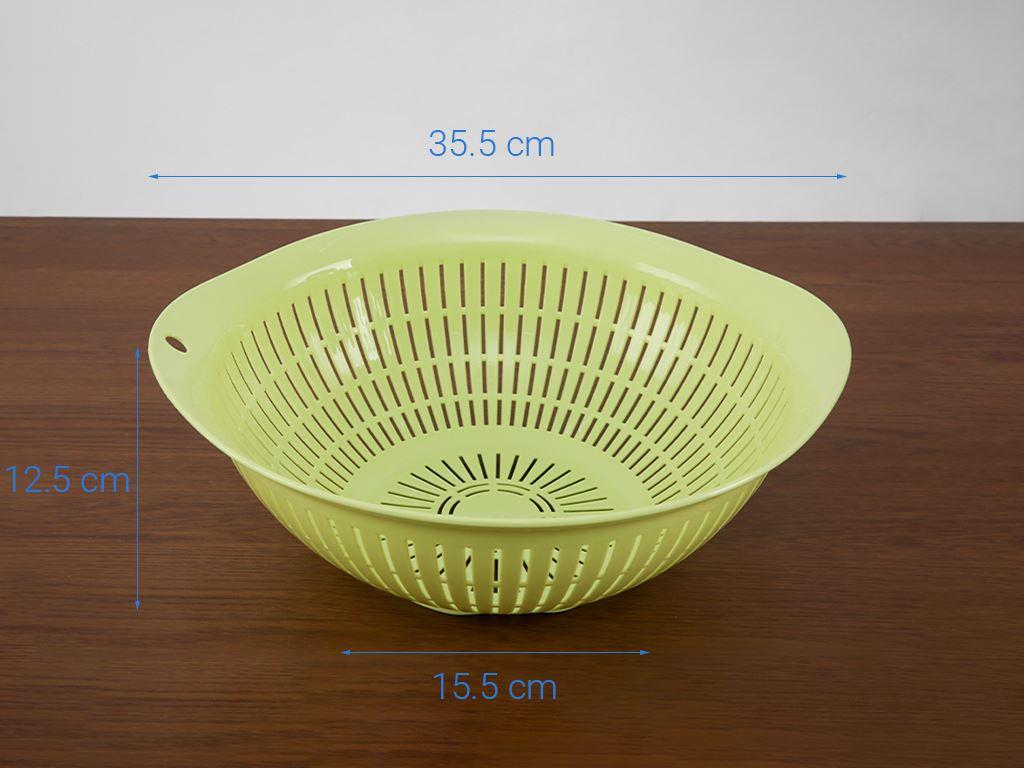 Rổ nhựa tròn Thái Lan Pioneer RN003 34cm (giao màu ngẫu nhiên) 8