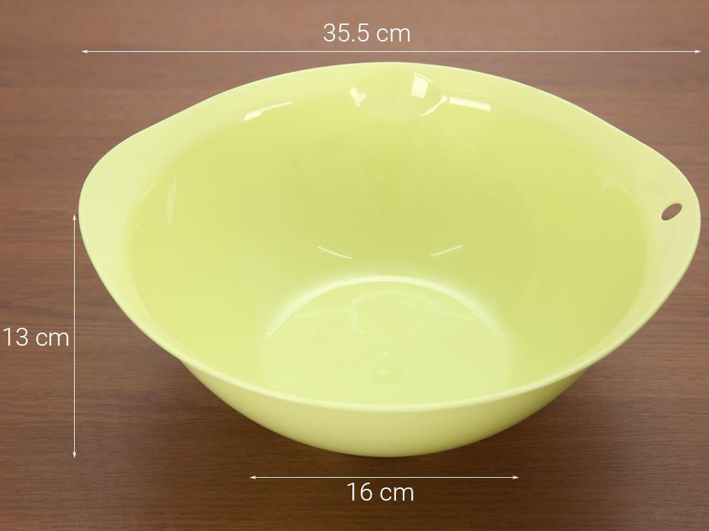 Thau nhựa tròn Thái Lan Pioneer TN003 34cm (giao màu ngẫu nhiên) 9