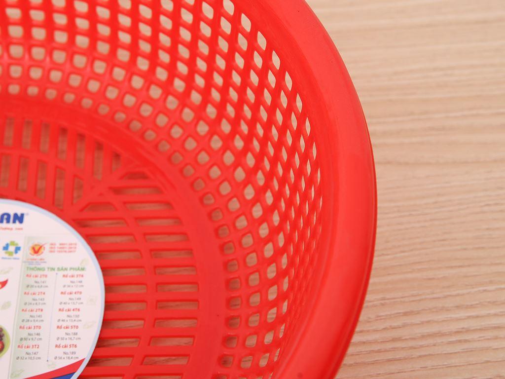 Rổ nhựa Duy Tân 3T0 30cm (giao màu ngẫu nhiên) 2