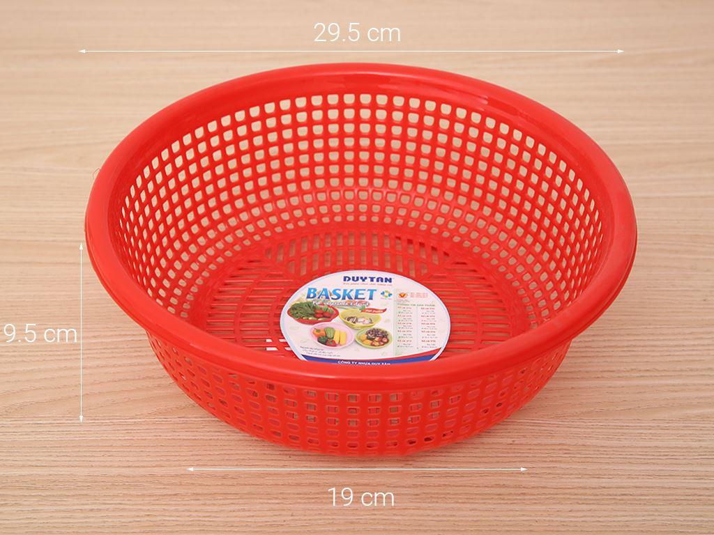 Rổ nhựa Duy Tân 3T0 30cm (giao màu ngẫu nhiên) 7