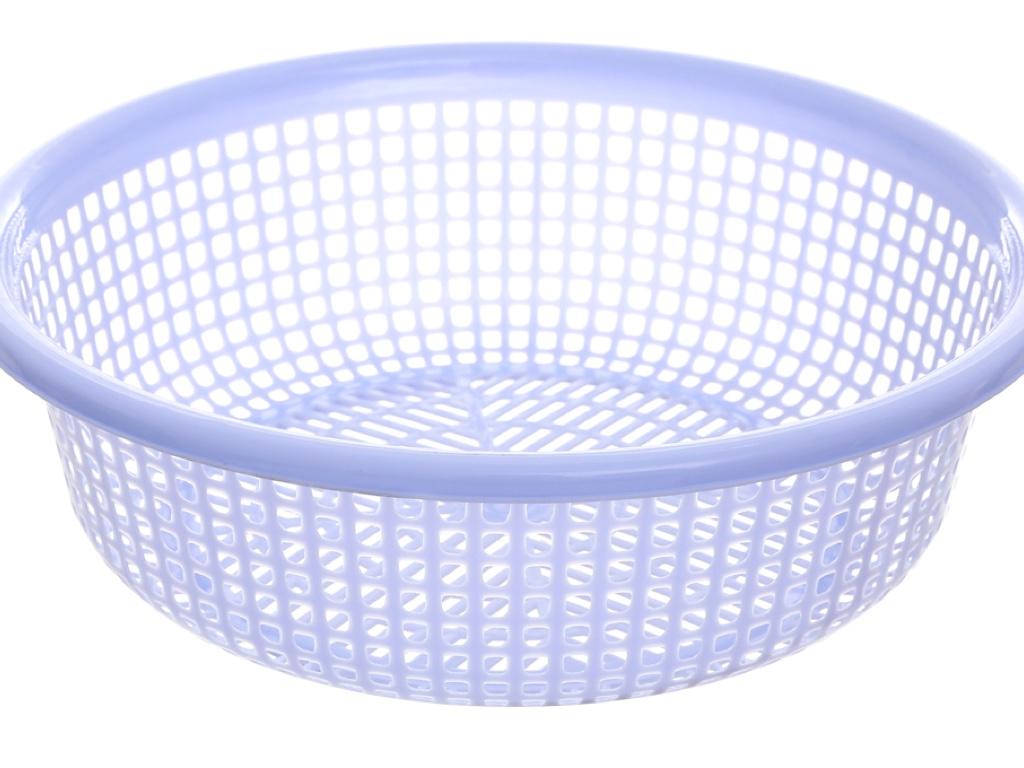 Rổ nhựa tròn Duy Tân 3T6 36cm 6
