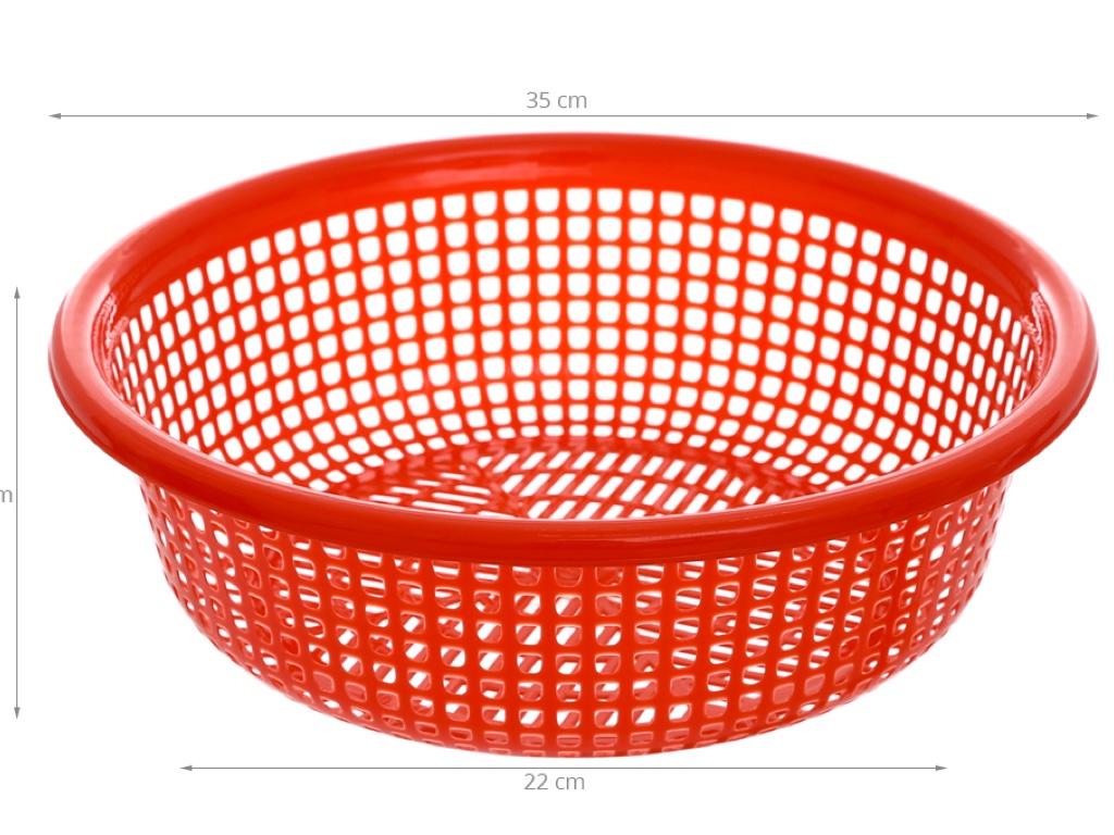 Rổ nhựa tròn Duy Tân 3T6 36cm 8