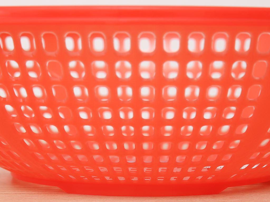 Rổ nhựa xoè Duy Tân 3T0 30cm (giao màu ngẫu nhiên) 4