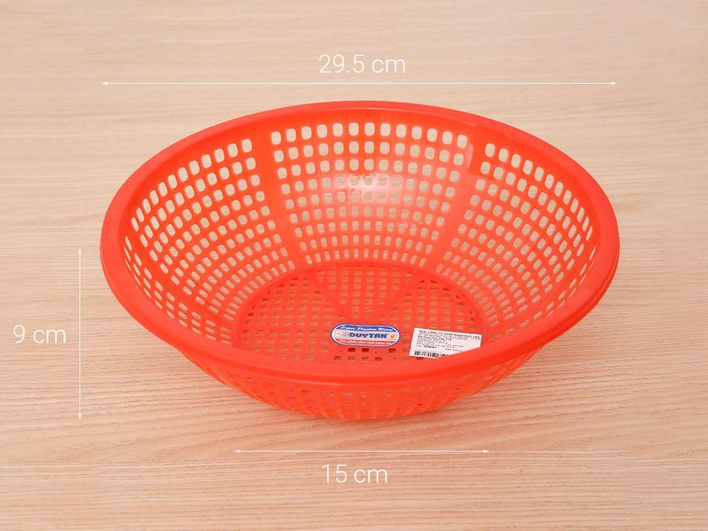 Rổ nhựa xoè Duy Tân 3T0 30cm (giao màu ngẫu nhiên) 7