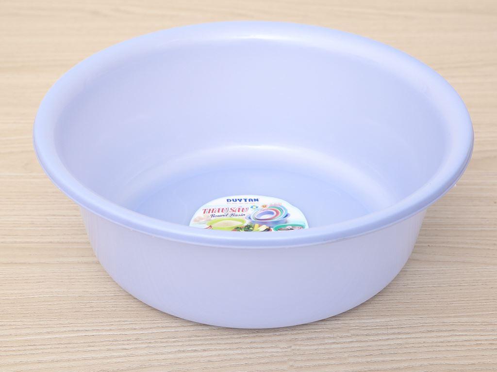 Thau nhựa tròn Duy Tân 2T8 27cm (giao màu ngẫu nhiên) 1