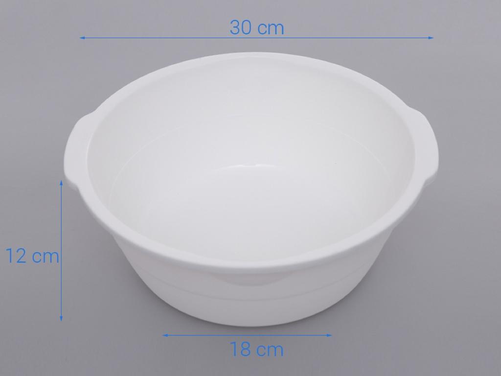 Thau nhựa tròn Pioneer TN004 30cm (giao màu ngẫu nhiên) 9