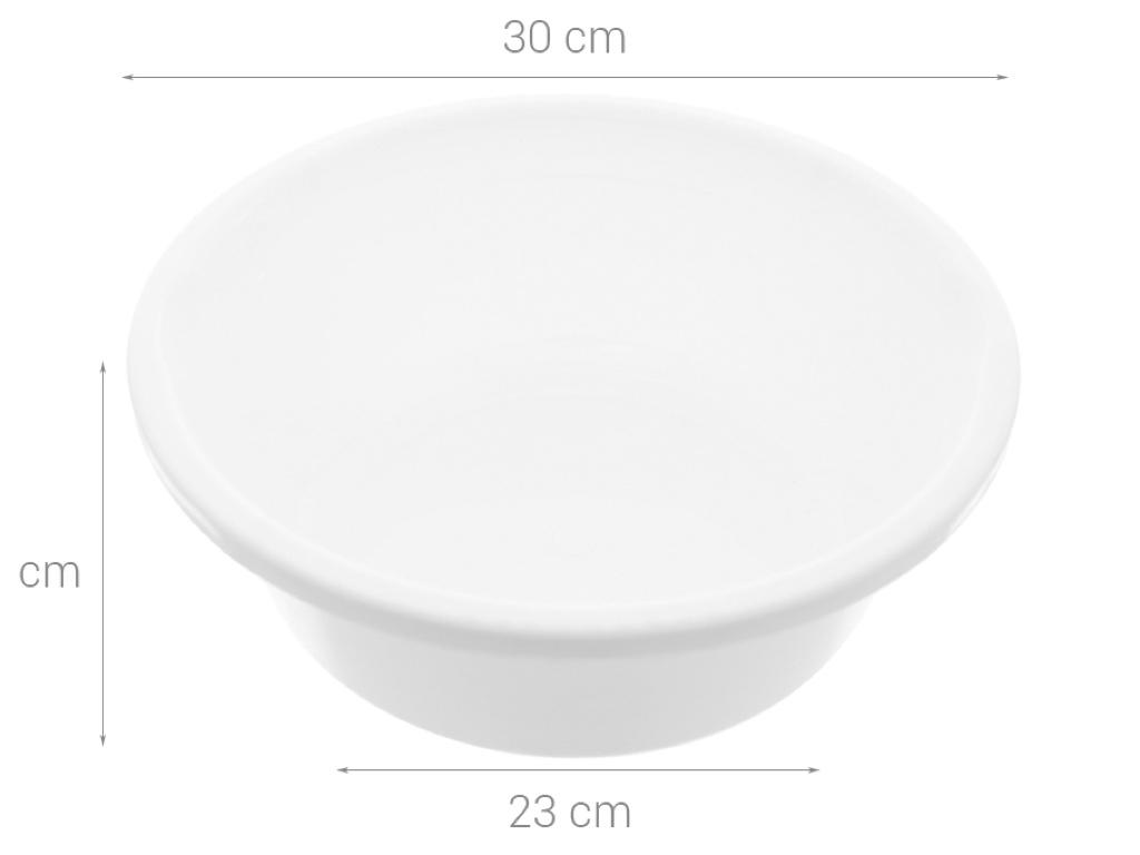 Thau nhựa tròn Thái Lan JCJ TN007 30cm (giao màu ngẫu nhiên) 10