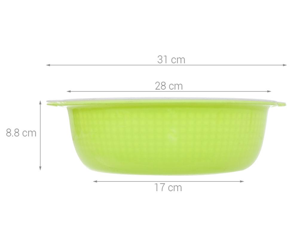 Rổ nhựa tròn Tự Lập TL1-951 28cm (giao màu ngẫu nhiên) 6