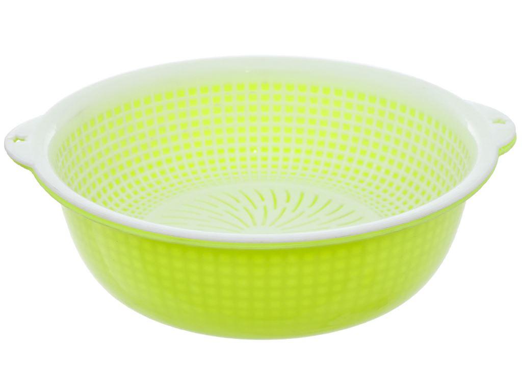 Bộ thau, rổ nhựa tròn 28.3 cm Tự Lập TL1-951 2