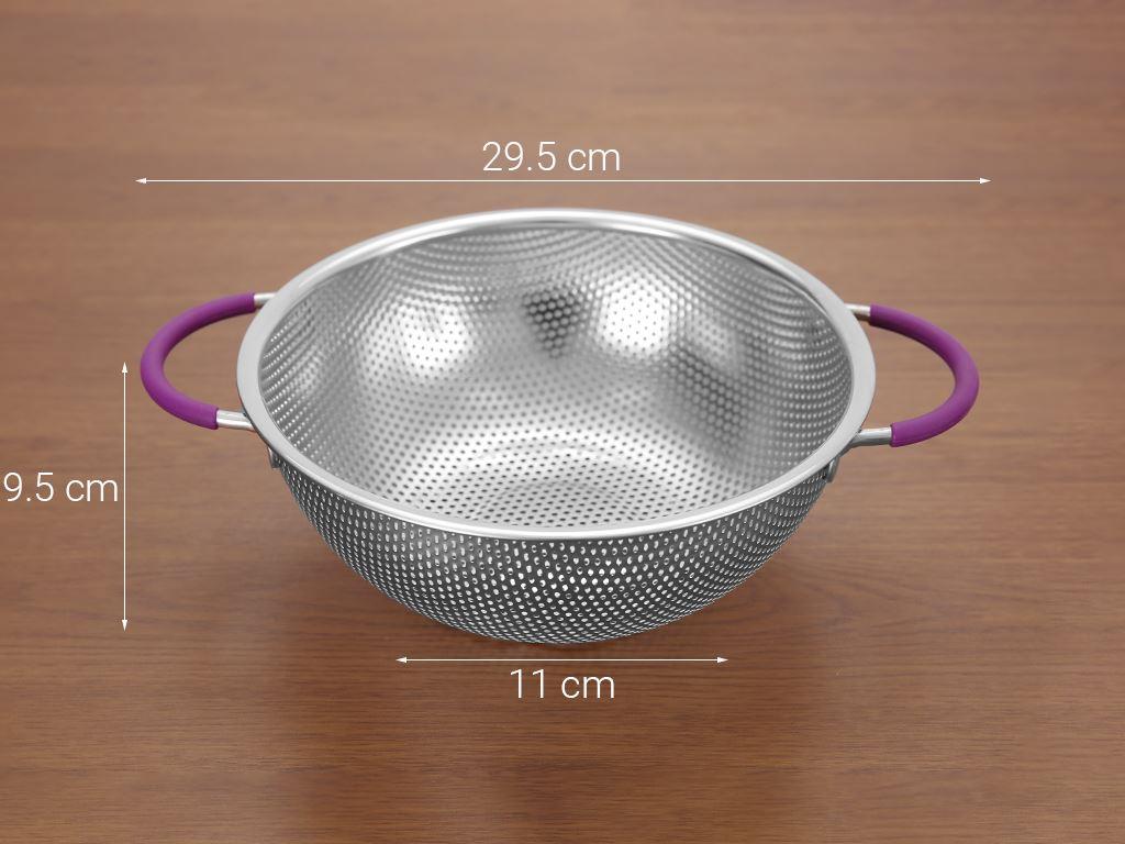 Rổ inox tròn Điện máy XANH RO001 22.5cm 8
