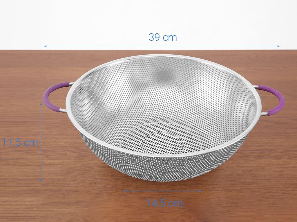 Rổ inox tròn Điện máy XANH RO001-31.5 32cm 8