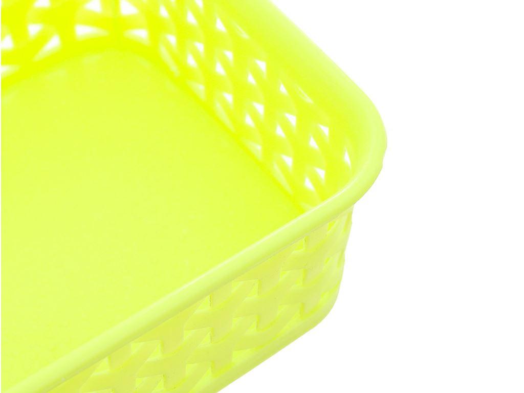 Rổ nhựa chữ nhật Tự Lập TL1-949 20cm (giao màu ngẫu nhiên) 2