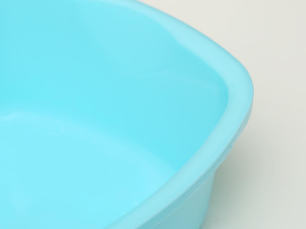 Thau nhựa vuông Tự Lập TL825 27cm xanh 2