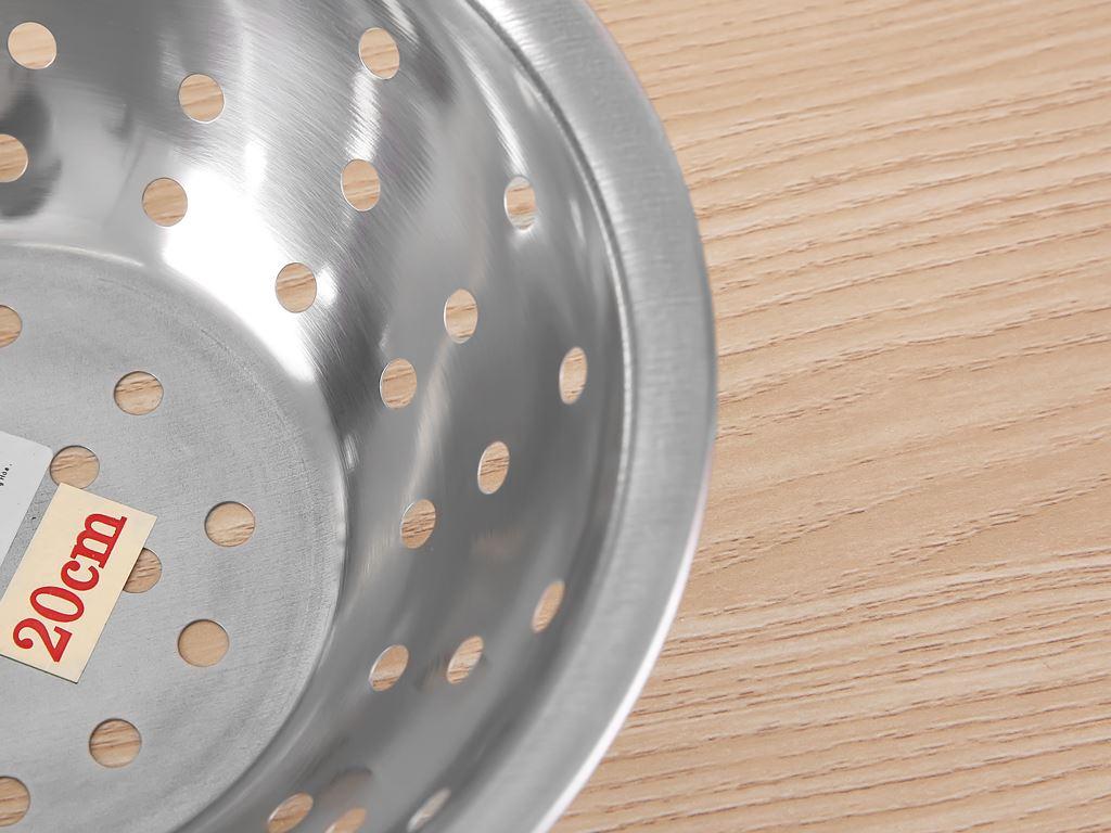 Rổ inox tròn Rainy 20-4D 20cm 2