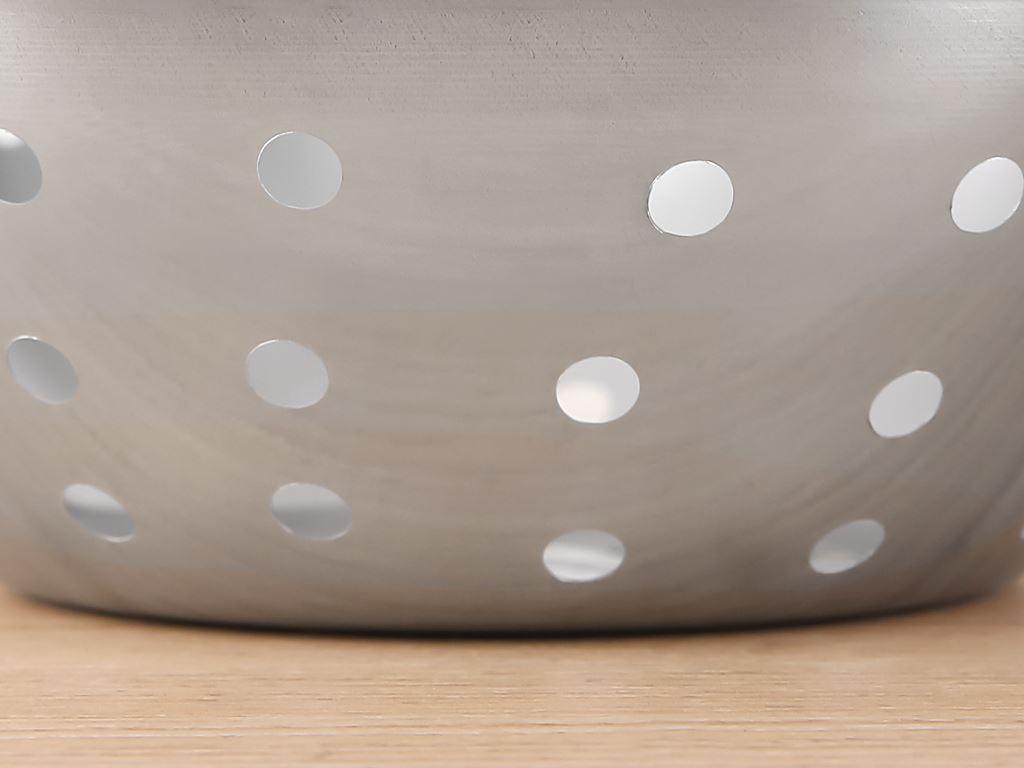 Rổ inox tròn Rainy 20-4D 20cm 4