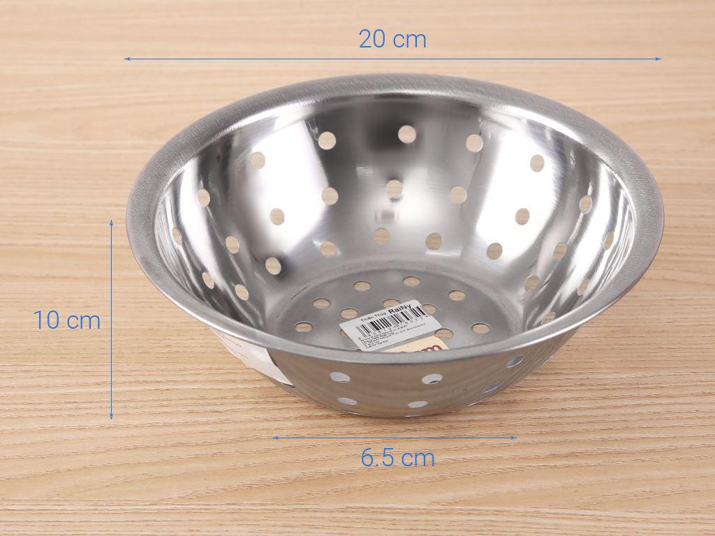 Rổ inox tròn Rainy 20-4D 20cm 7