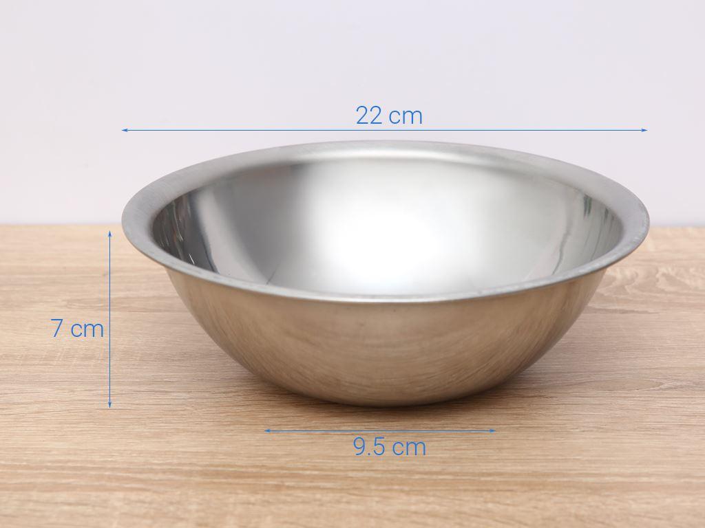 Thau inox tròn Rainy THAU 22-4D 22cm 6