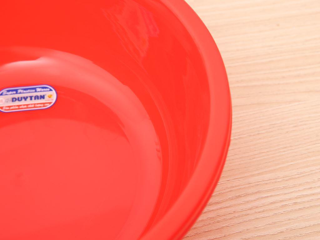 Thau nhựa tròn Duy Tân 2T6 26cm (giao màu ngẫu nhiên) 2