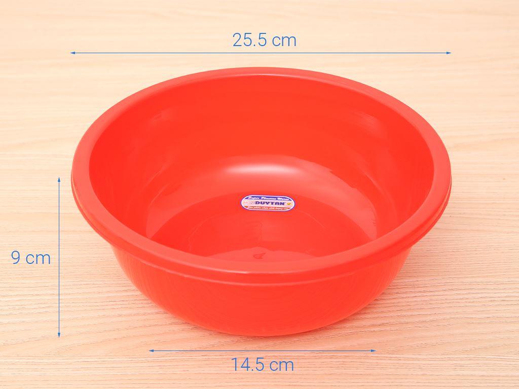 Thau nhựa tròn Duy Tân 2T6 26cm (giao màu ngẫu nhiên) 6