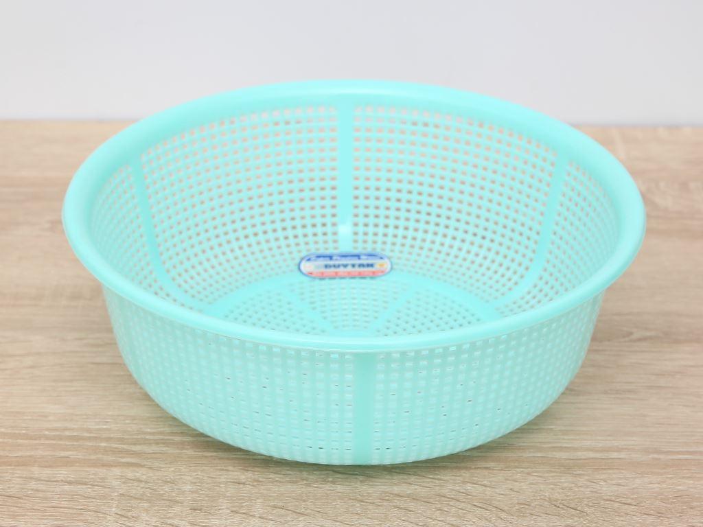 Rổ nhựa gạo Duy Tân 24cm (giao màu ngẫu nhiên) 1