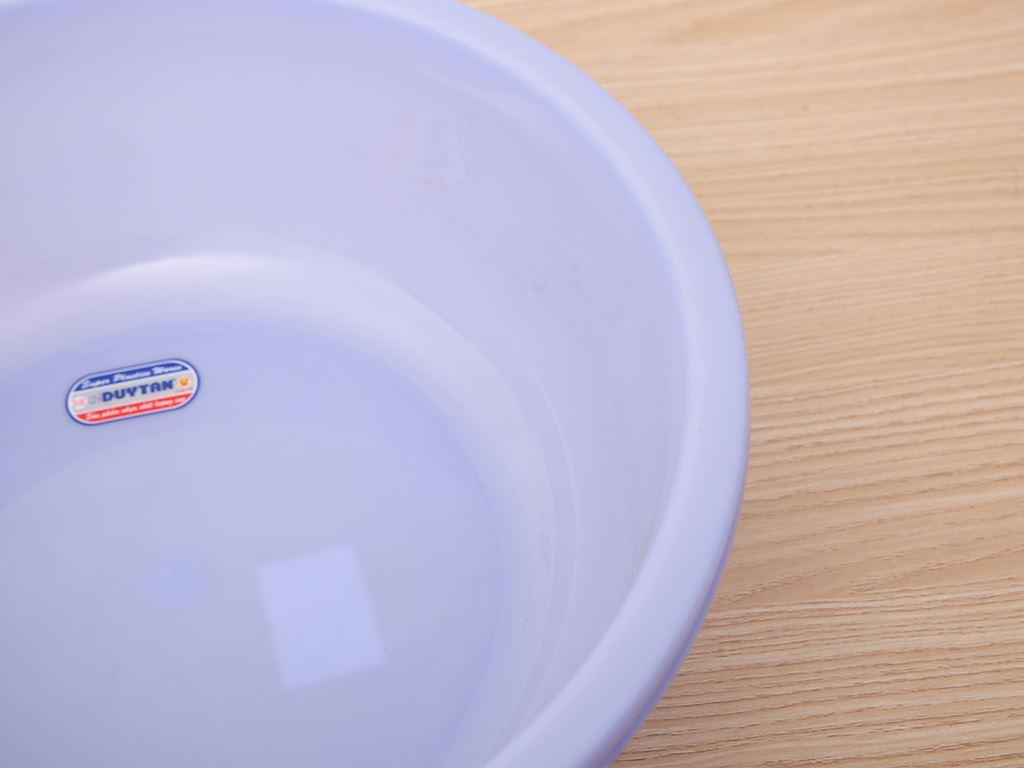 Thau nhựa tròn Duy Tân 3T2 32cm (giao màu ngẫu nhiên) 2