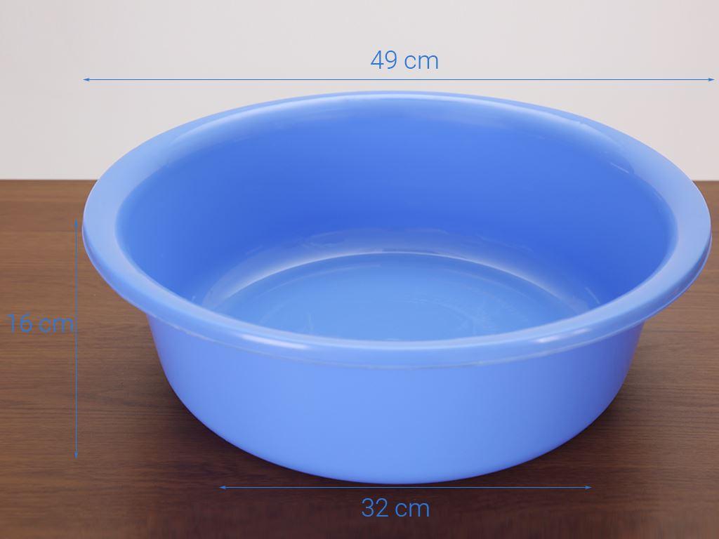 Thau nhựa tròn Duy Tân 5T0 50cm (giao màu ngẫu nhiên) 8