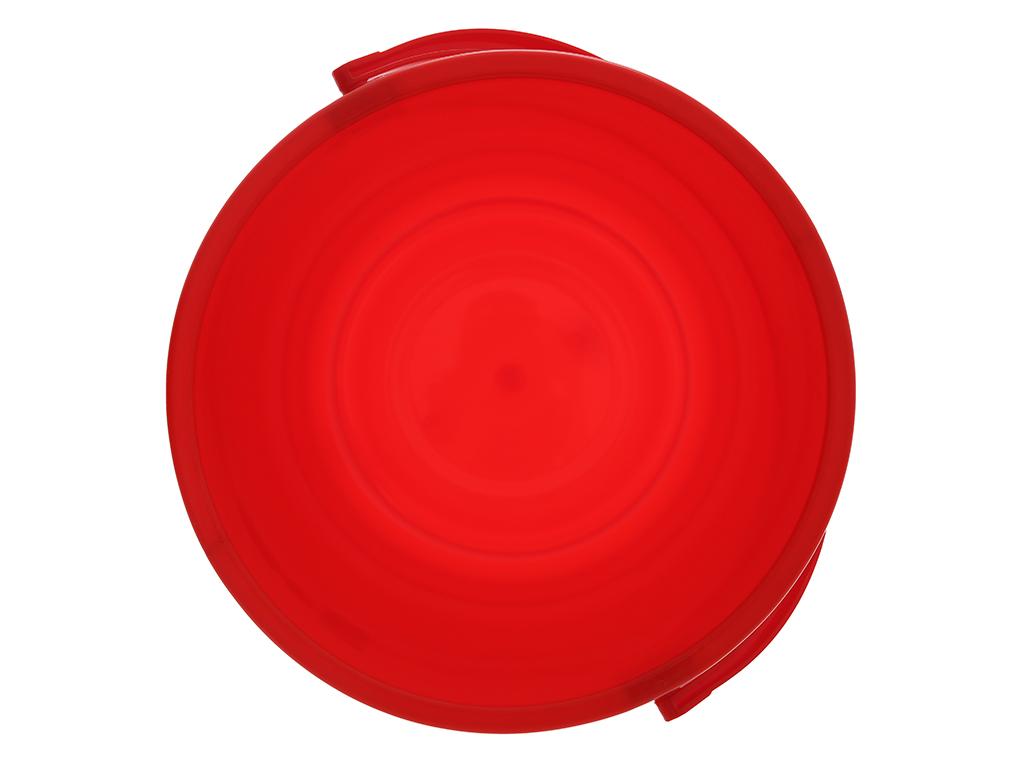 Xô đựng nước nhựa tròn có nắp Duy Tân 18 lít (giao màu ngẫu nhiên) 3